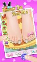 Screenshot of Holiday Toe Nails SPA