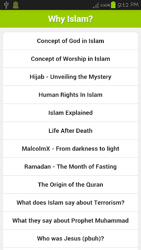 【免費書籍App】Why Islam?-APP點子
