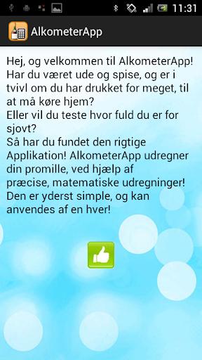 Alkometer App
