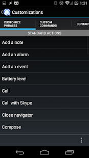KLets - Voice control - screenshot thumbnail
