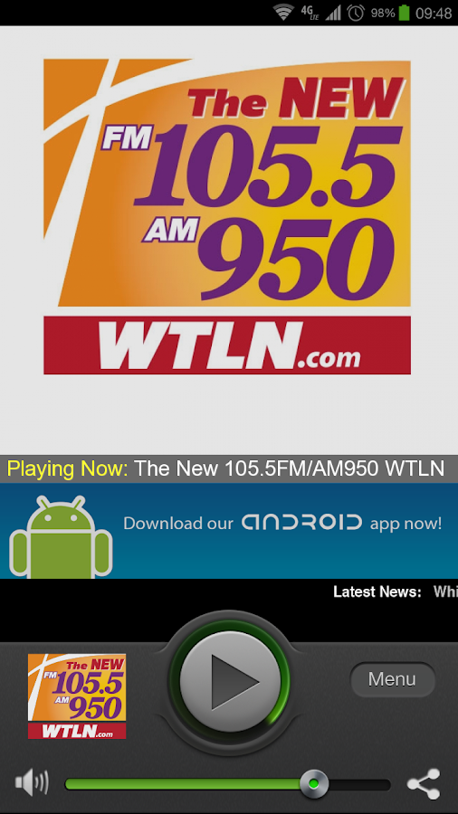 The NEW 950 WTLN - screenshot