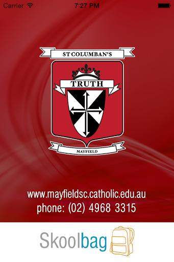 St Columbans PS Mayfield