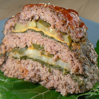 Triple Hamburger / Cheeseburger Slow Cooker Meatloaf