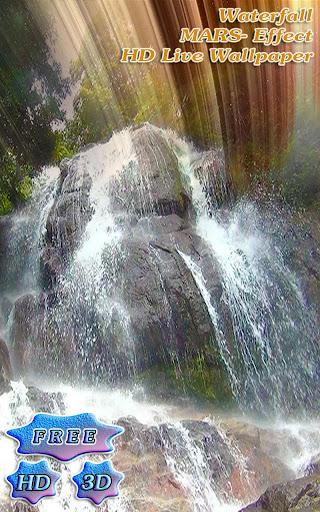3D Waterfall Mars Effect Free