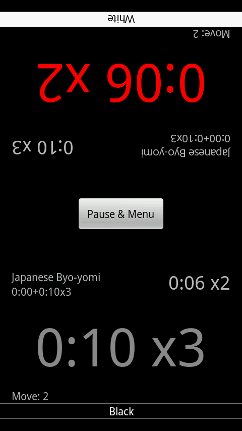 Igo Clock - screenshot