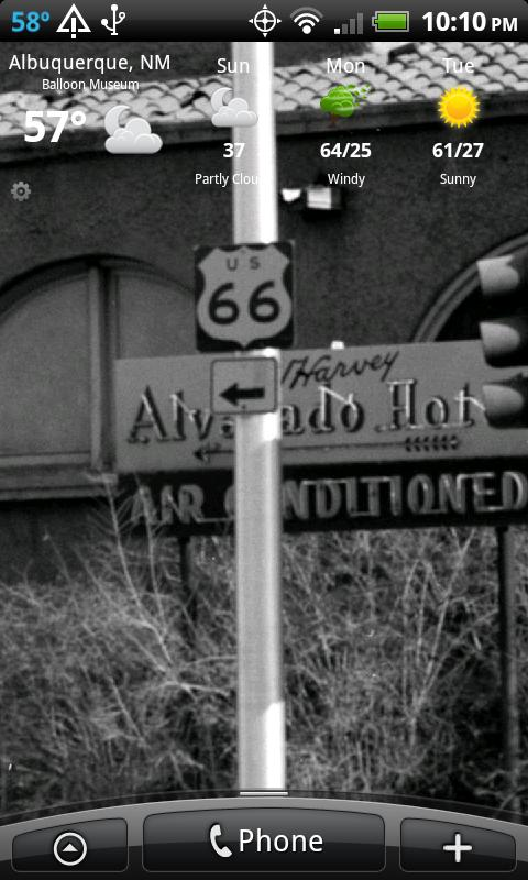 Route 66 NEW MEXICO Wallpaper - screenshot