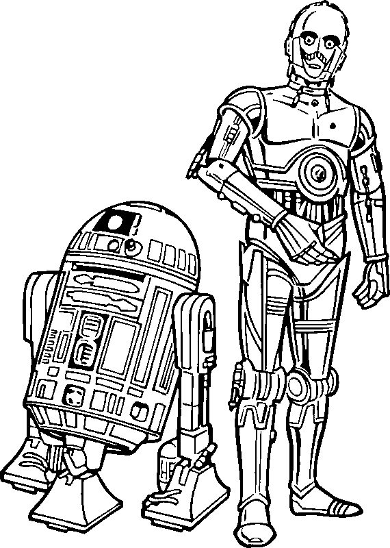 Star Wars Coloring - screenshot