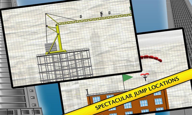 Stickman Base Jumper screenshot #2