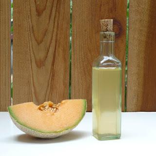 DIY Melon Liqueur.