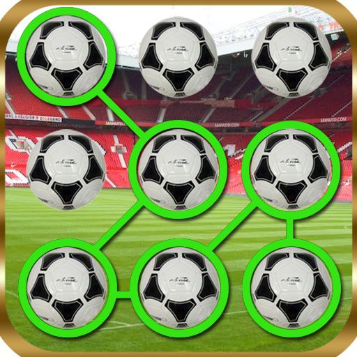 足球圖案的鎖 個人化 App LOGO-APP開箱王
