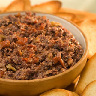 Olive & Sun-dried Tomato Spread.