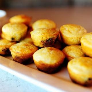 Blueberry Corn Mini-Muffins