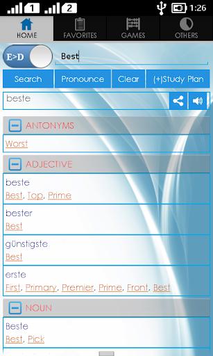 Deutsch-Wörterbuch