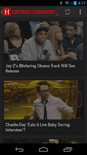 El Huffington Post - screenshot thumbnail