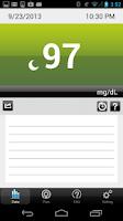 Screenshot of iFORA Diabetes Manager