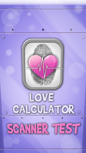 Love Calculator: Scanner Test