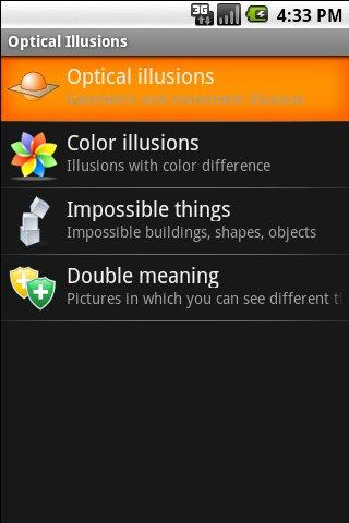 Optical Illusions - screenshot