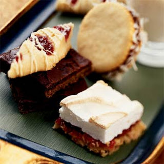 White Chocolate-Raspberry Slices