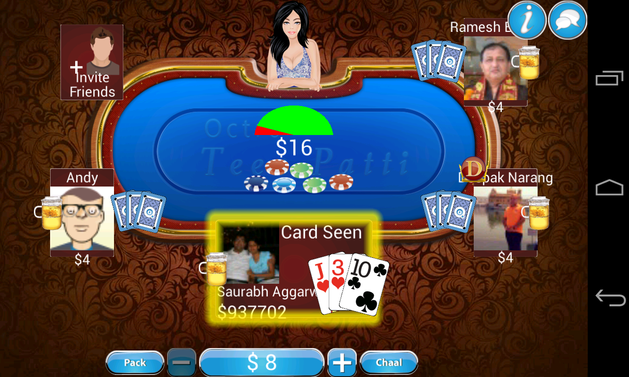 Teen Patti - Indian Poker - screenshot