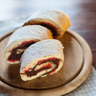 Sponge Roll with Chocolate Recipe