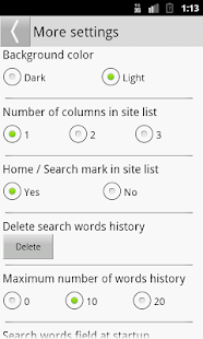 Search Selection- screenshot thumbnail