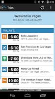 Screenshot of TripIt Travel Organizer No Ads