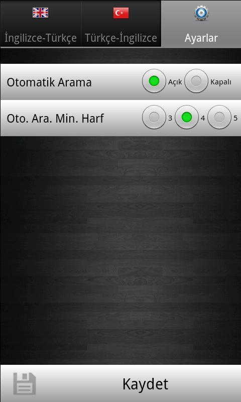 Sözlük- screenshot