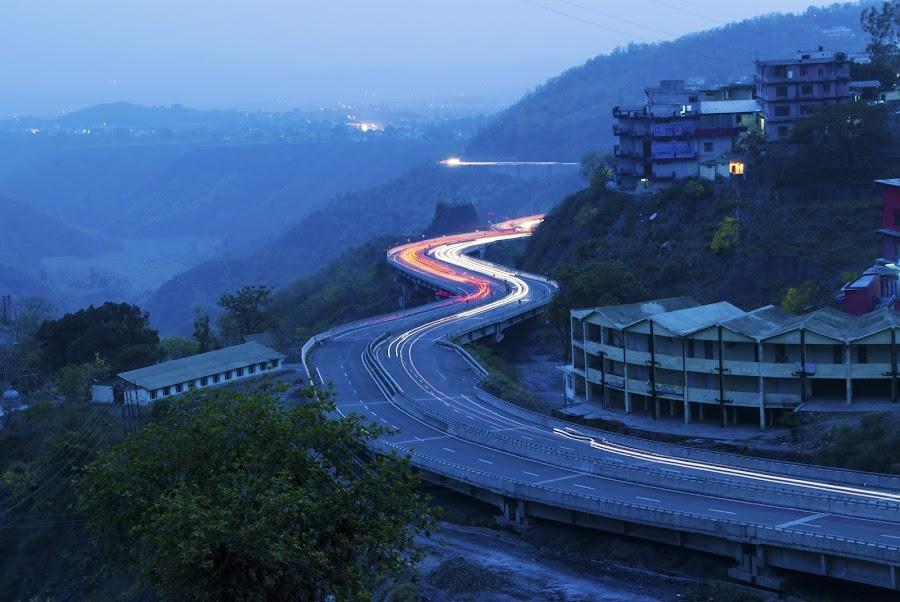 Curvy Highway by Havneet Singh - Landscapes Travel