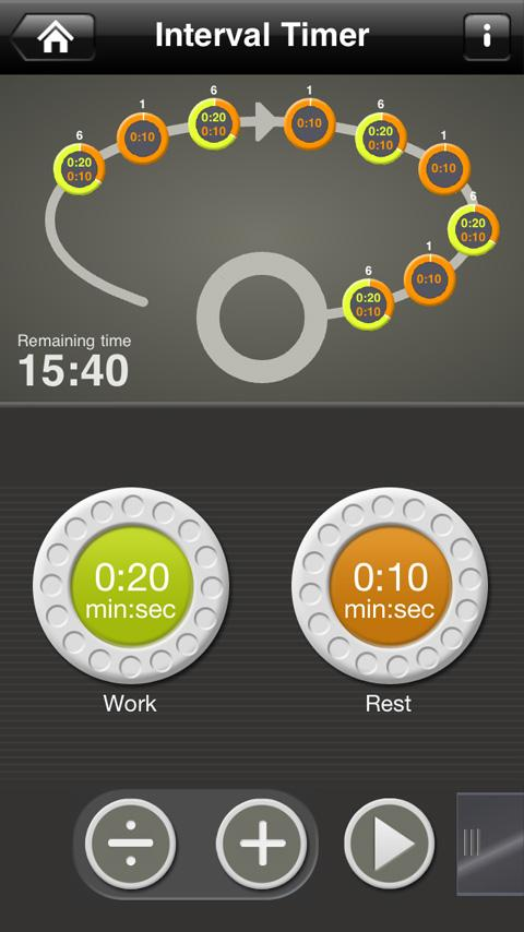 Fitness Test pro - screenshot