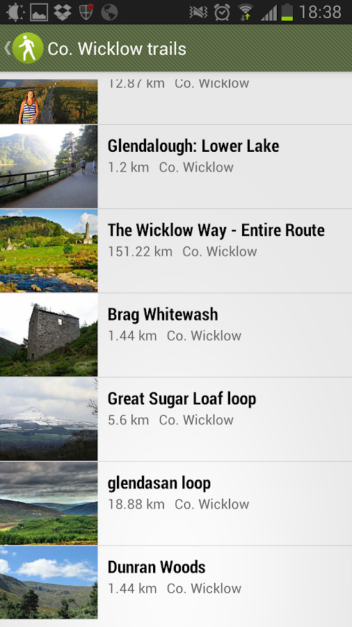 Walking Routes Ireland- screenshot