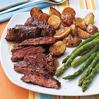 Coffee-Rubbed Skirt Steak