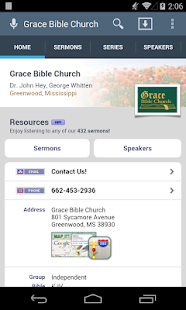 Grace Bible Church - screenshot thumbnail