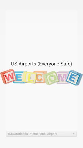 USAairport flight time queries