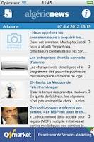 Screenshot of AlgerieNews