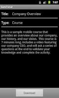 Screenshot of SumTotal Mobile