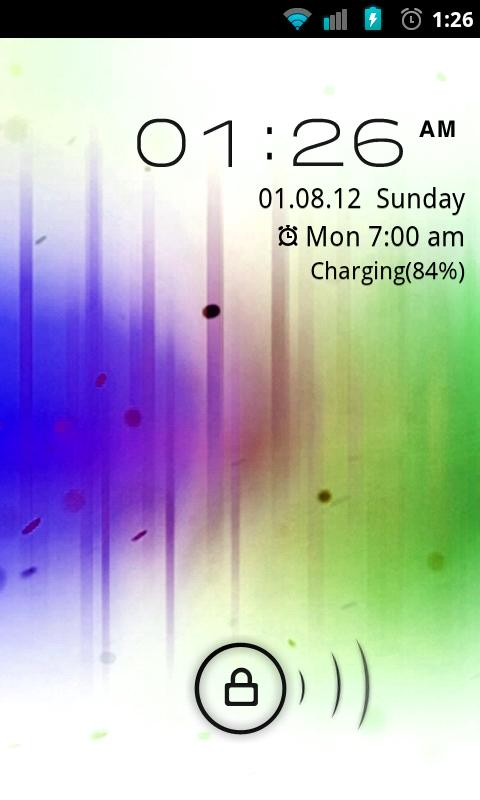 Go Locker Inverted ICS Theme- screenshot