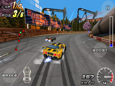 Raging Thunder 2 - FREE APK screenshot thumbnail 5