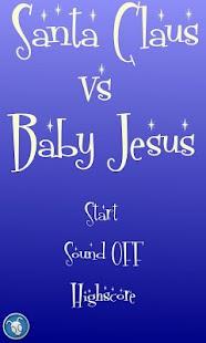 Santa Claus VS Baby Jesus- screenshot thumbnail