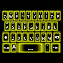 Yellow Glow Keyboard Skin logo