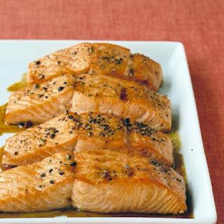 Soy-Glazed Salmon.