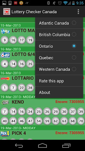 Lottery Checker Canada