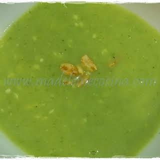 Quick Creamy Zucchini Soup.