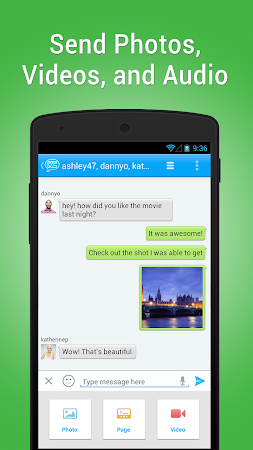 KeeChat Messenger - Free chats 1.5 screenshot 28127
