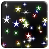 Twinkling stars live wallpaper