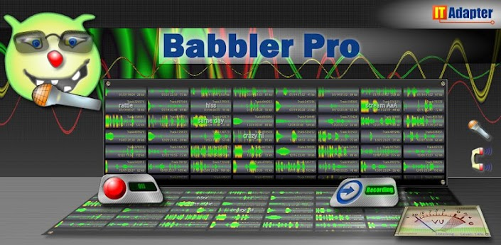 Babbler Pro Audio Recorder apk