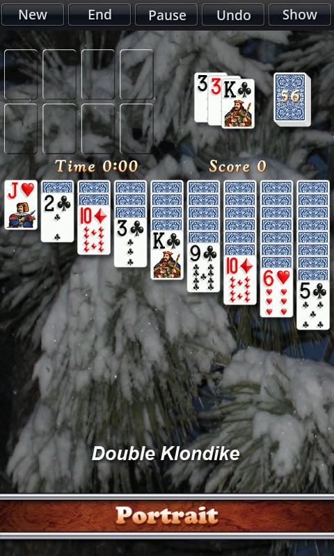 Solitaire City - screenshot