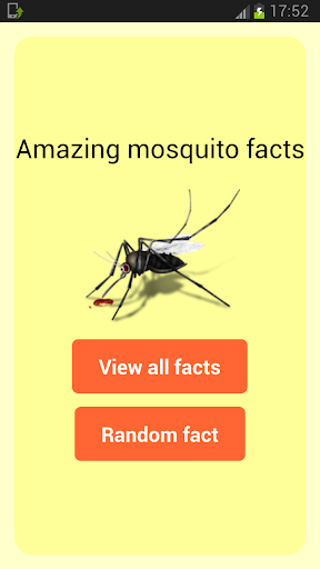 Amazing Mosquito Facts