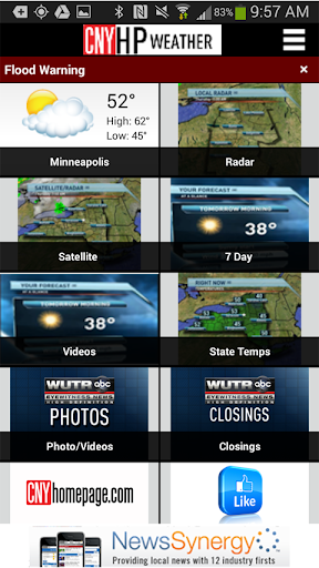 CNYhomepage.com Weather
