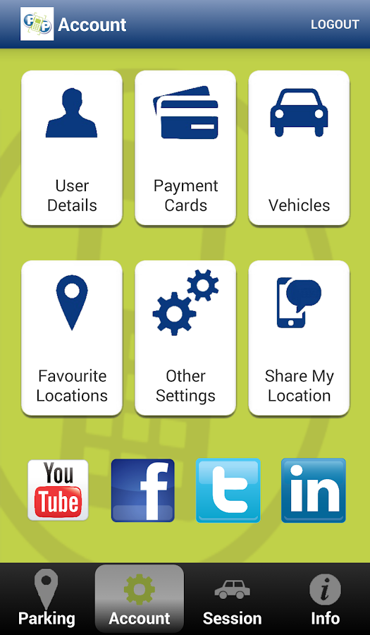 Phone and Pay Parking- screenshot