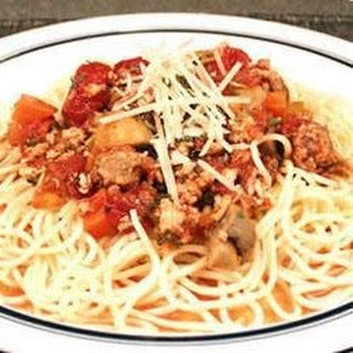 Marica's Spaghetti Meat Sauce